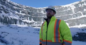Canadian gold mine reduced dilution