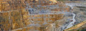 Latin American silver mine