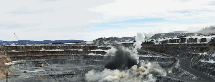 Mount Milligan Blast