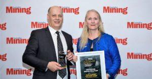 Janse Innovation award Australia Mining