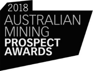 Australian Mining Prospect Award Innovative Mining Solution winner 2018